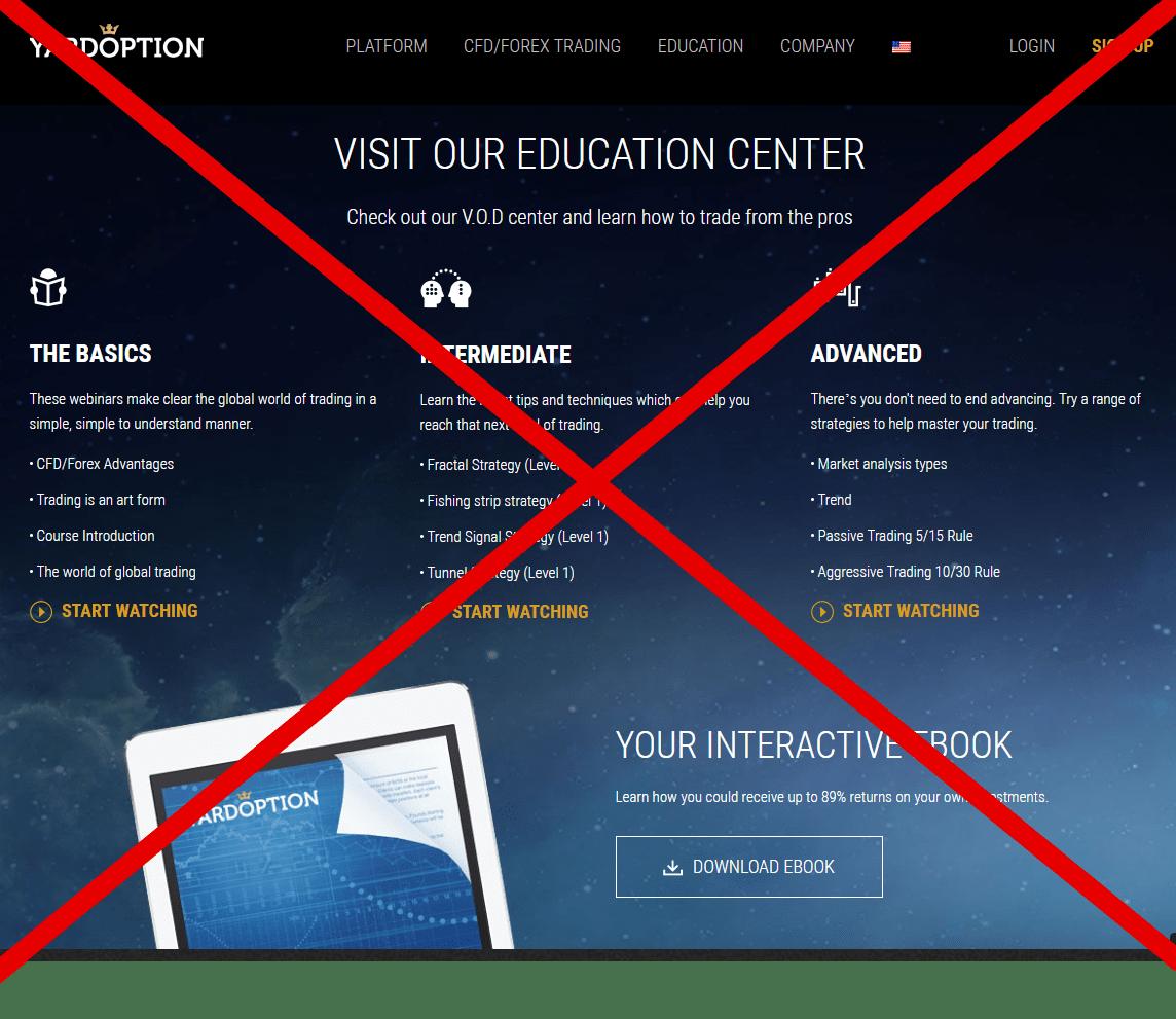 Отзывы о https://yardoption.com – можно ли доверять брокеру Yardoption?