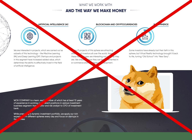 Отзывы о Wox.ltd - заработок денег