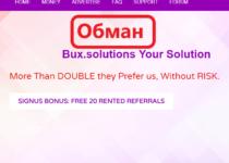 Bux.solutions — отзывы о сомнительном буксе