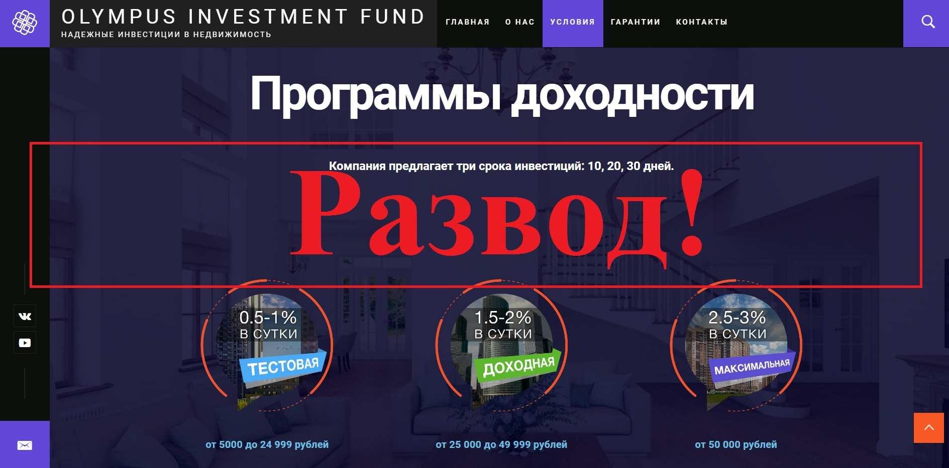 Olympus – инвестиции в недвижимость с olympusif.com. Отзывы