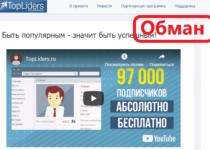 TopLiders — реальные отзывы о сомнительном заработке