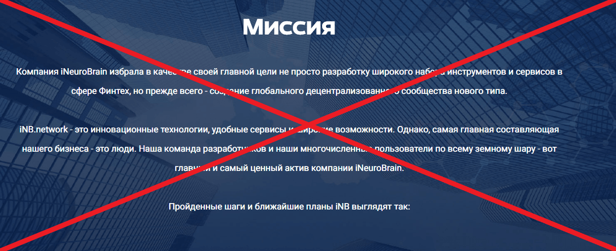 iNeuroBrain о компании