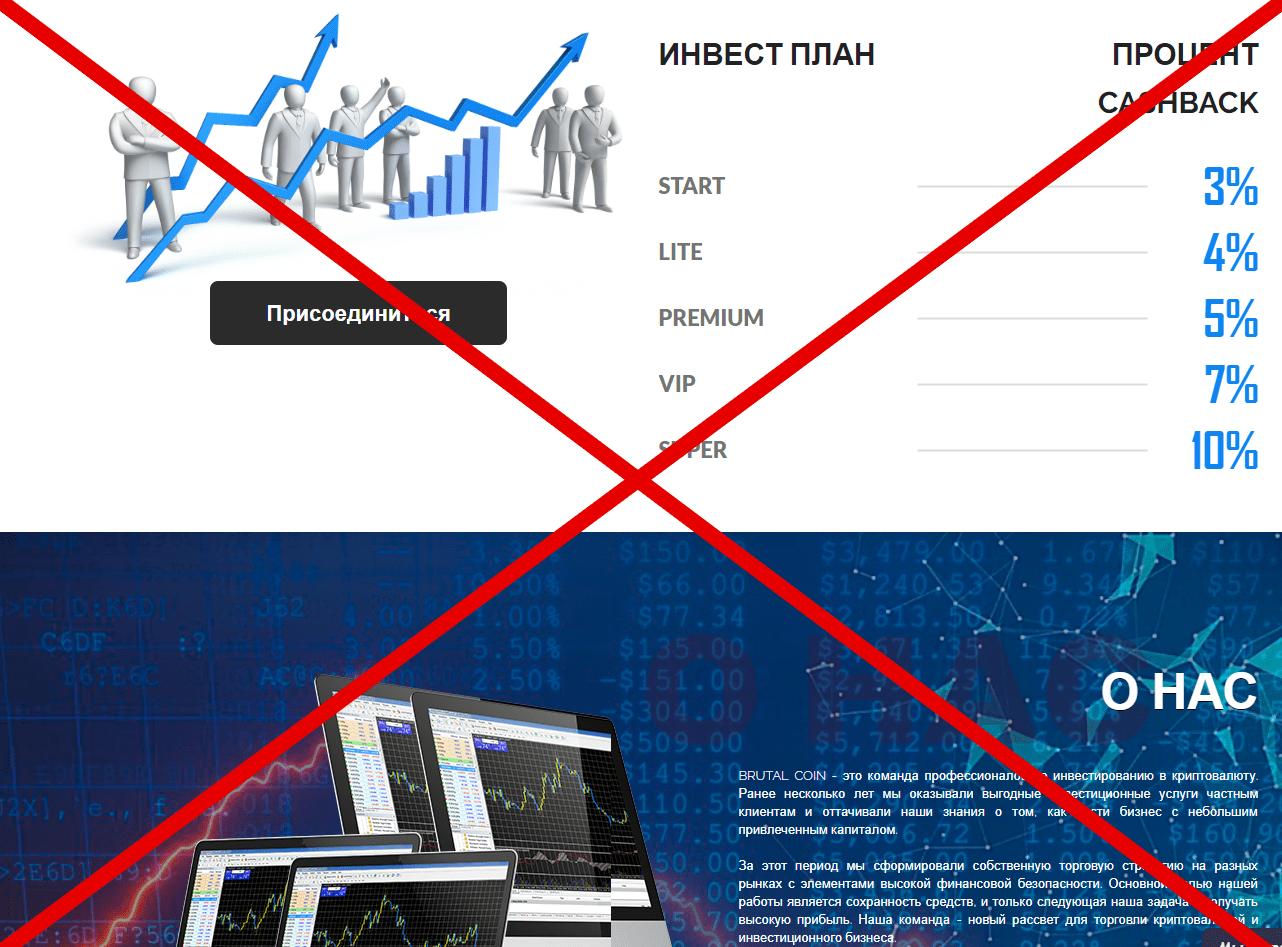 Реальные отзывы о Brutal Coin - инвестиции в криптовалюту