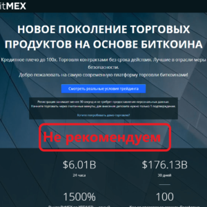 BitMex обзор