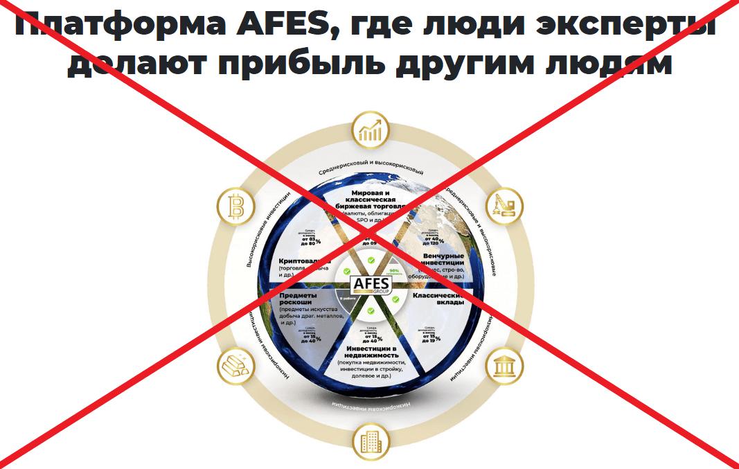 AFES group - отзывы инвесторов о afesgroup.com