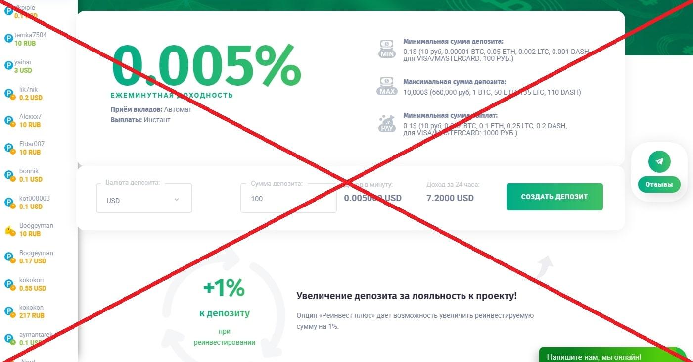 10cent.biz - отзывы и обзор проекта