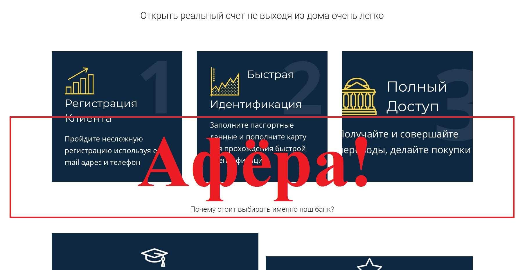 Online BK – отзыв и обзор мошеннического банка