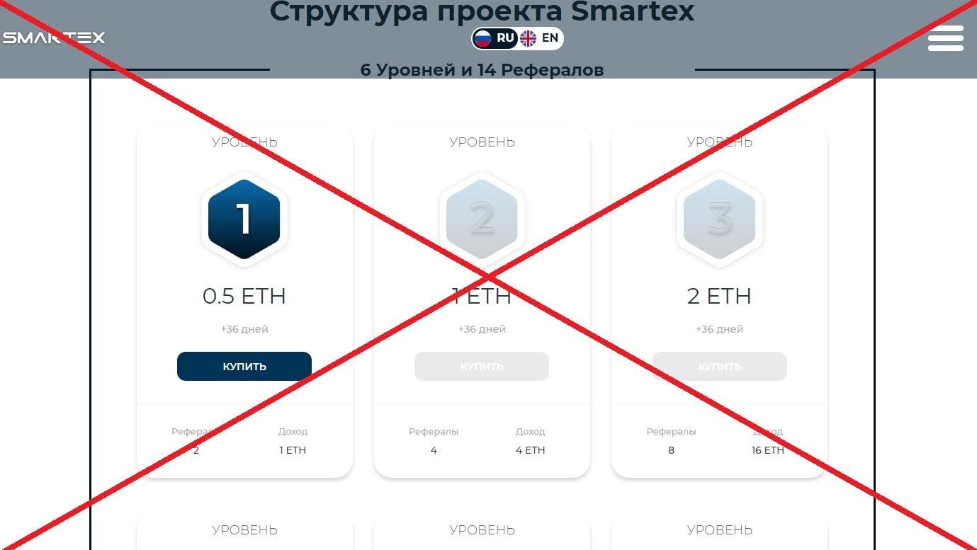 Smartex - отзывы о бинарной матрице