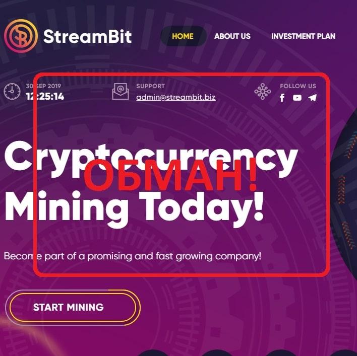 StreamBit — отзывы и обзор проекта