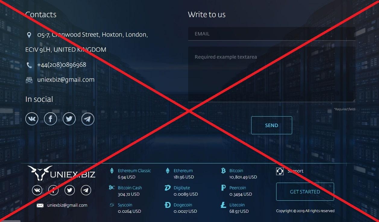 Uniex.biz - реальные отзывы