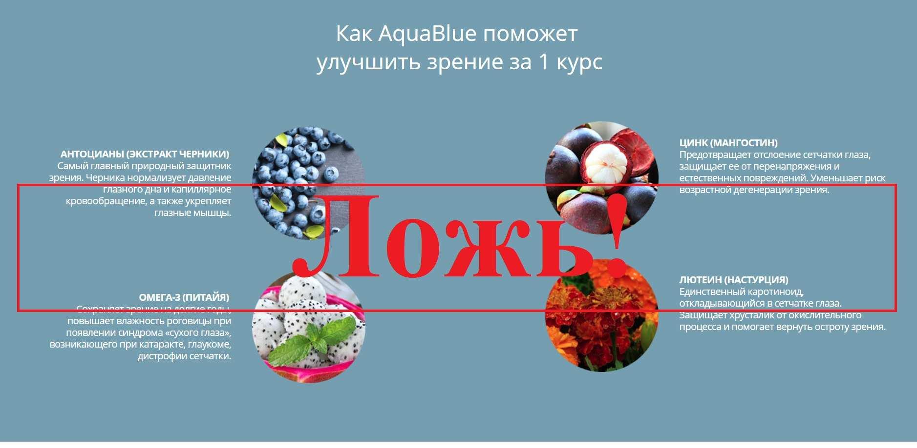 Aqua Blue – отзывы о каплях для зрения