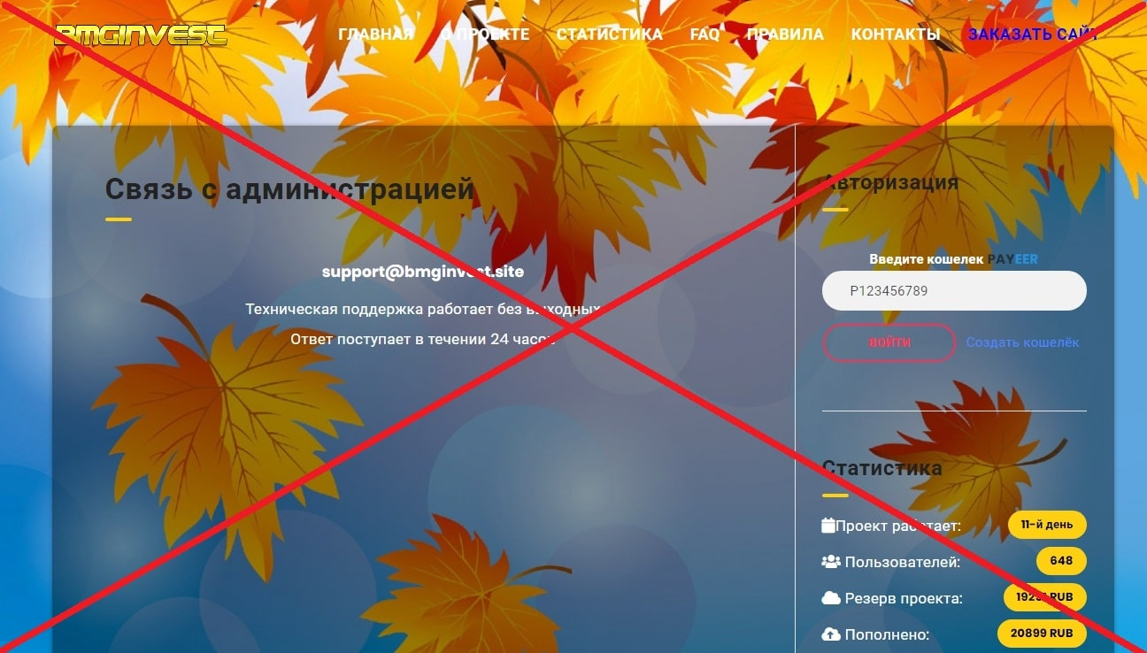 BMGINVEST - отзывы о майнинге bmginvest.site