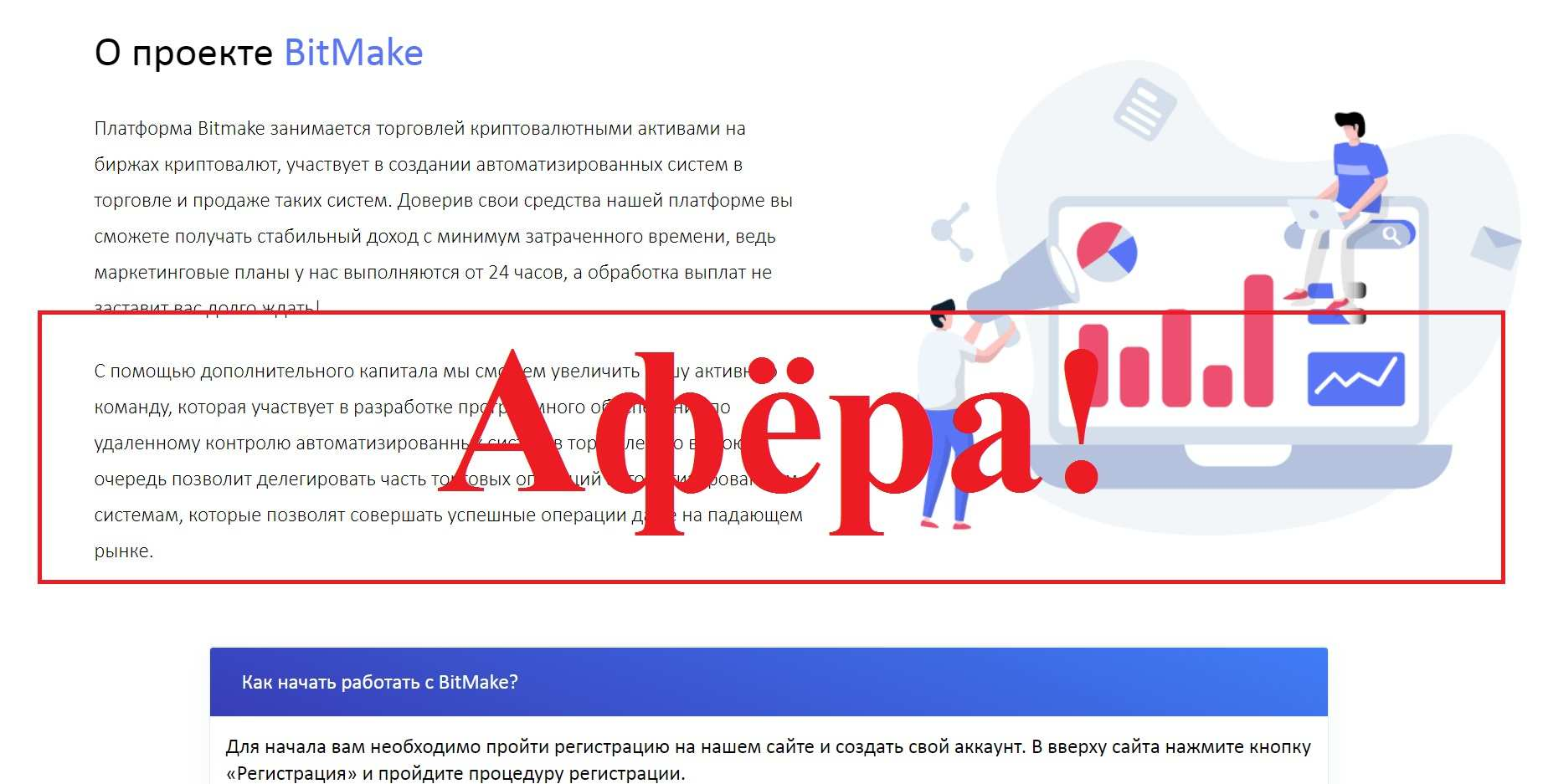Bitmake.biz – отзывы и обзор bitmake.biz