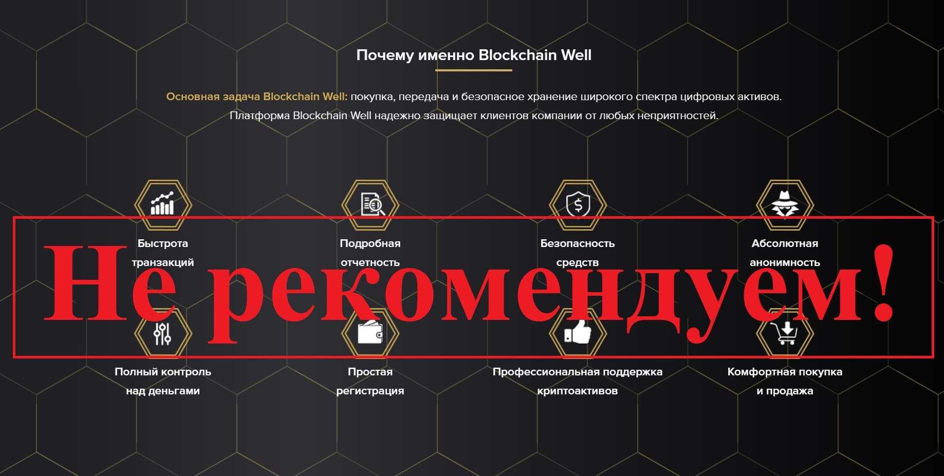 Blockchain Well – отзывы о кошельке tokensdock.com