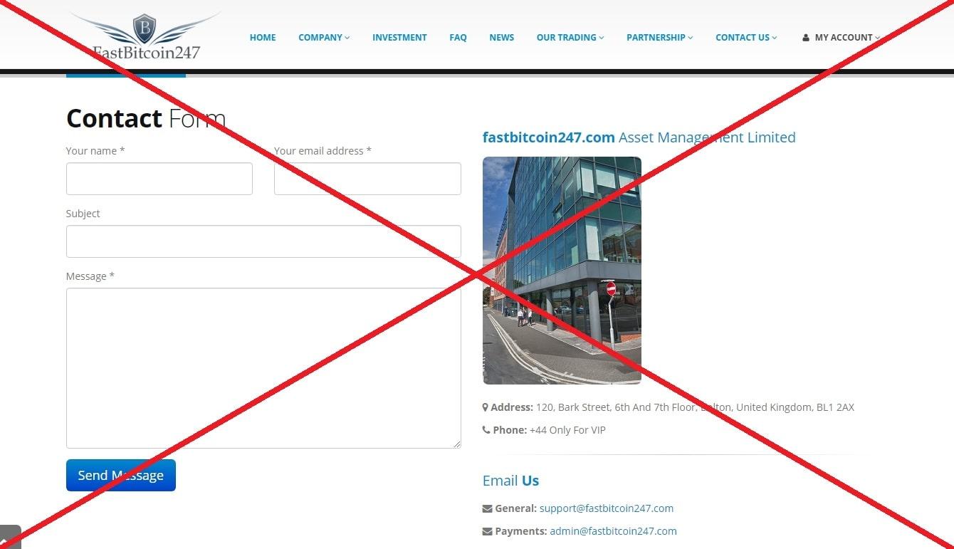 FastBitcoin247 - отзывы и обзор