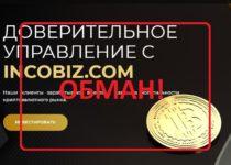 Incobiz — отзывы о доверительном управлении Incobiz.com