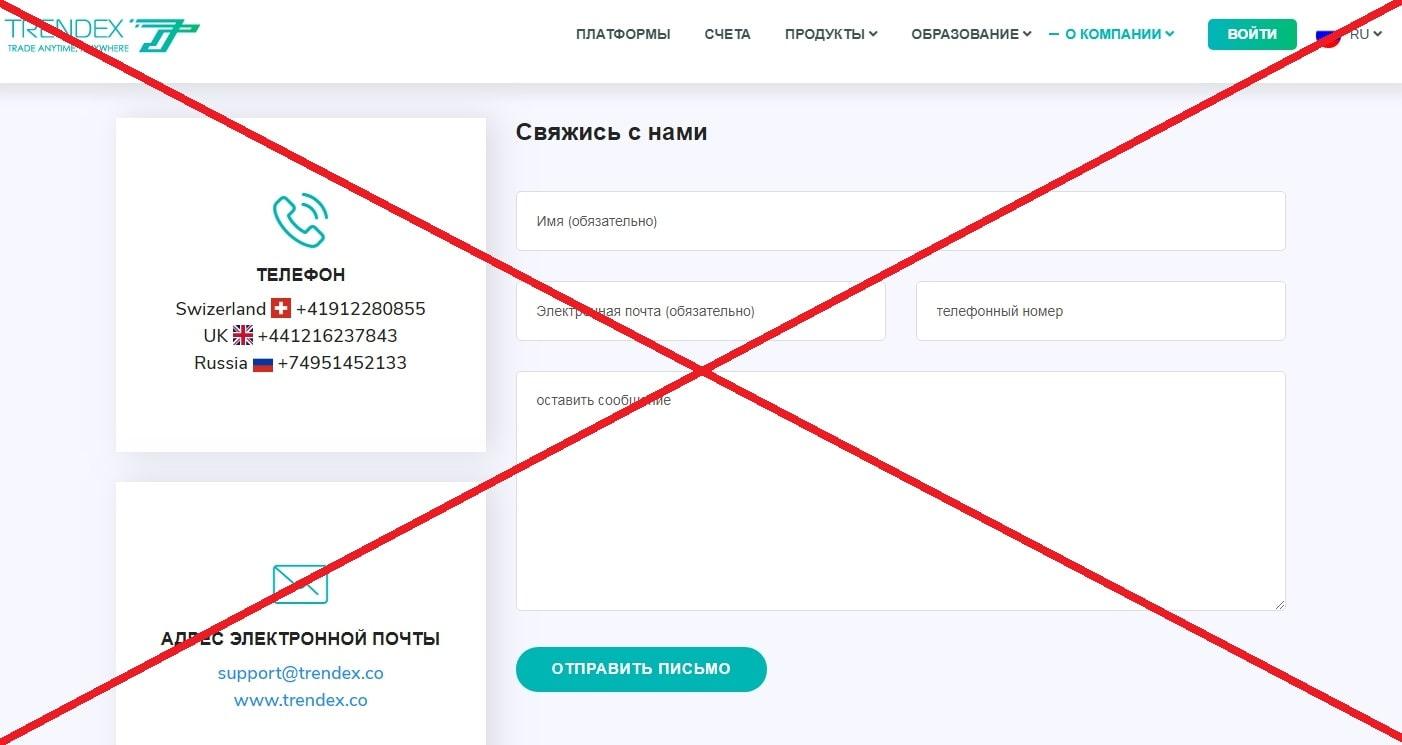 Trendex - обзор и отзывы о trendex.co