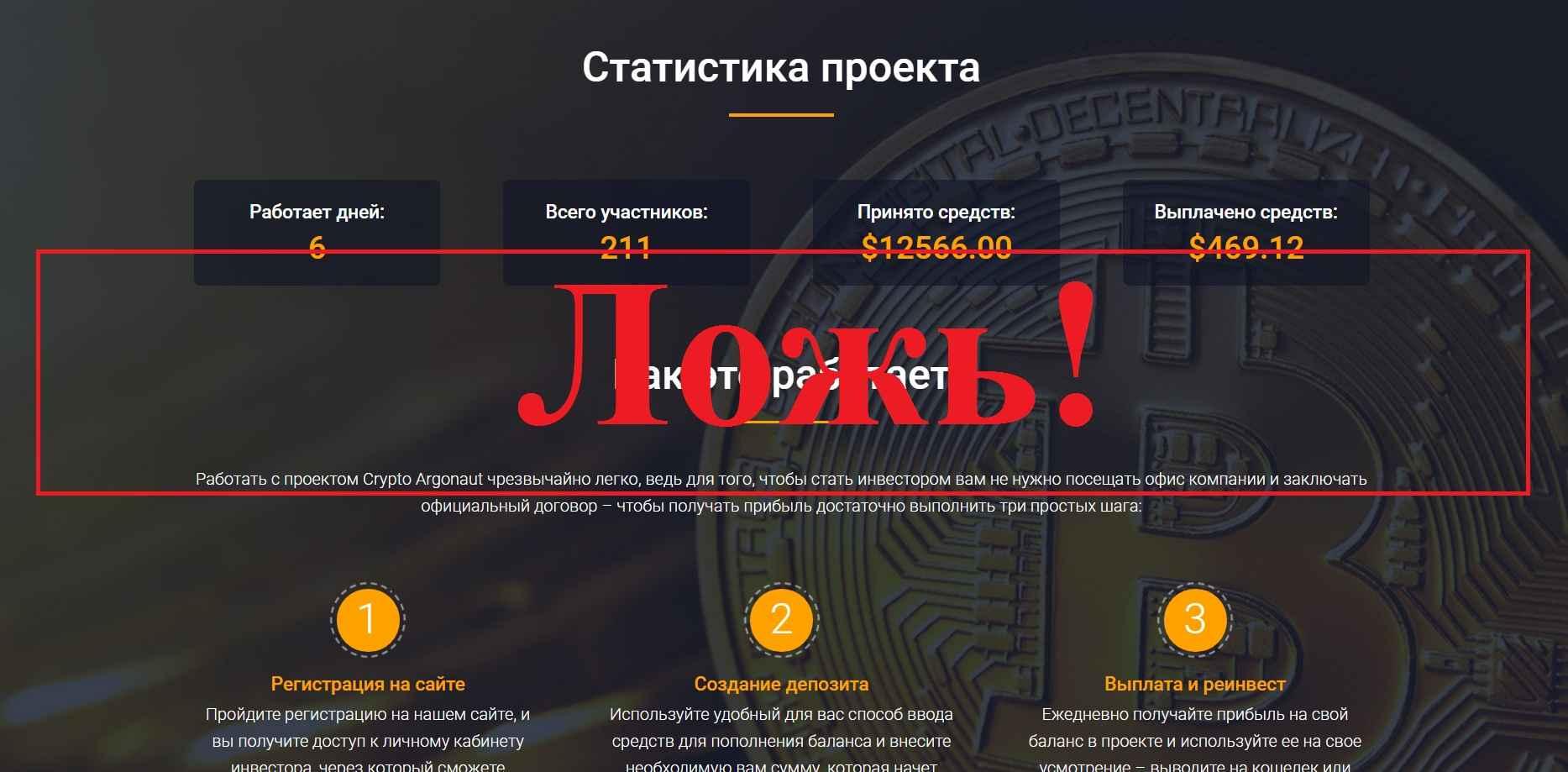 Crypto Argonaut – отзывы и обзор crypto-argonaut.com