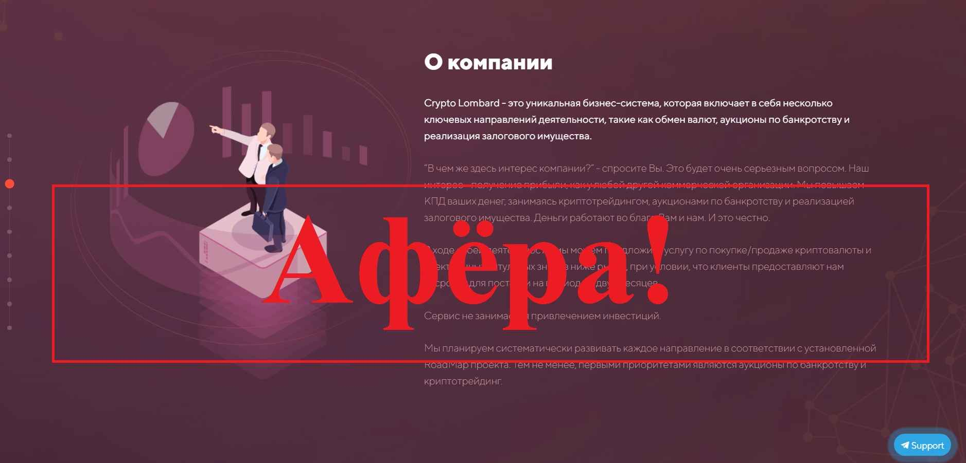Crypto Lombard – реальные отзывы о crypto-lombard.org