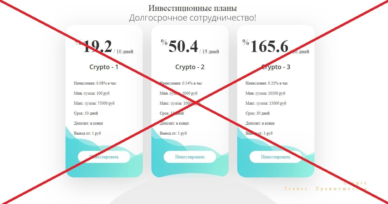 Crypto Trades - отзывы об инвестиционном проекте crypto-trades.online