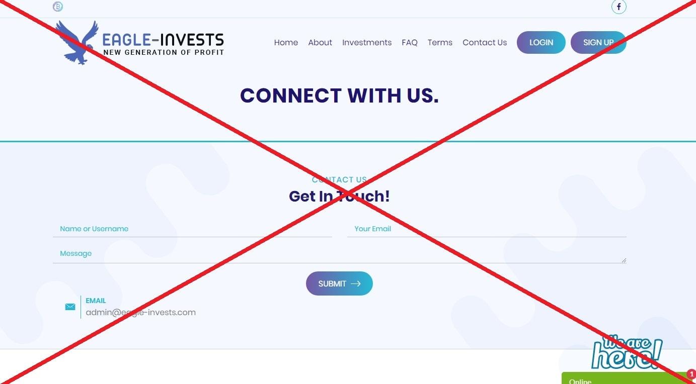 Eagle Invests - реальные отзывы о eagle-invests.com
