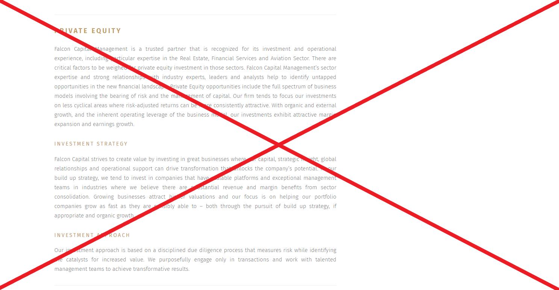 Falcon Capital - реальные отзывы о falcon-cp.com