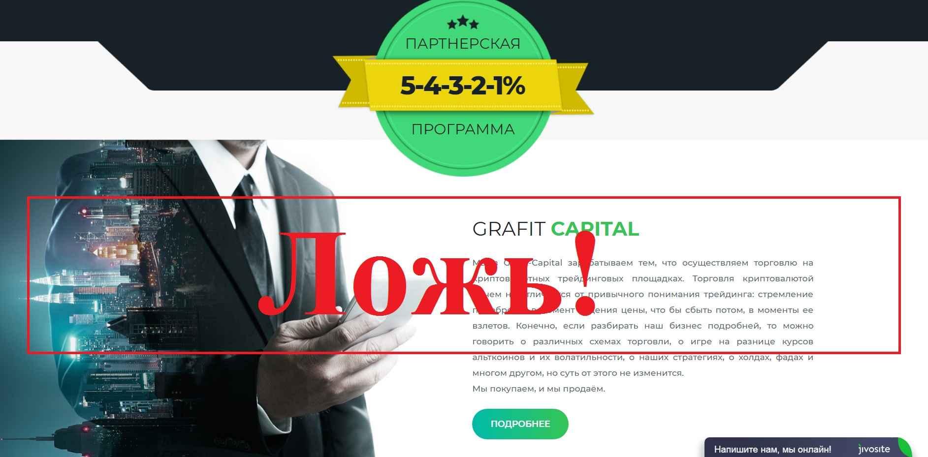 Grafit Capital – реальные отзывы и обзор grafit-capital.com