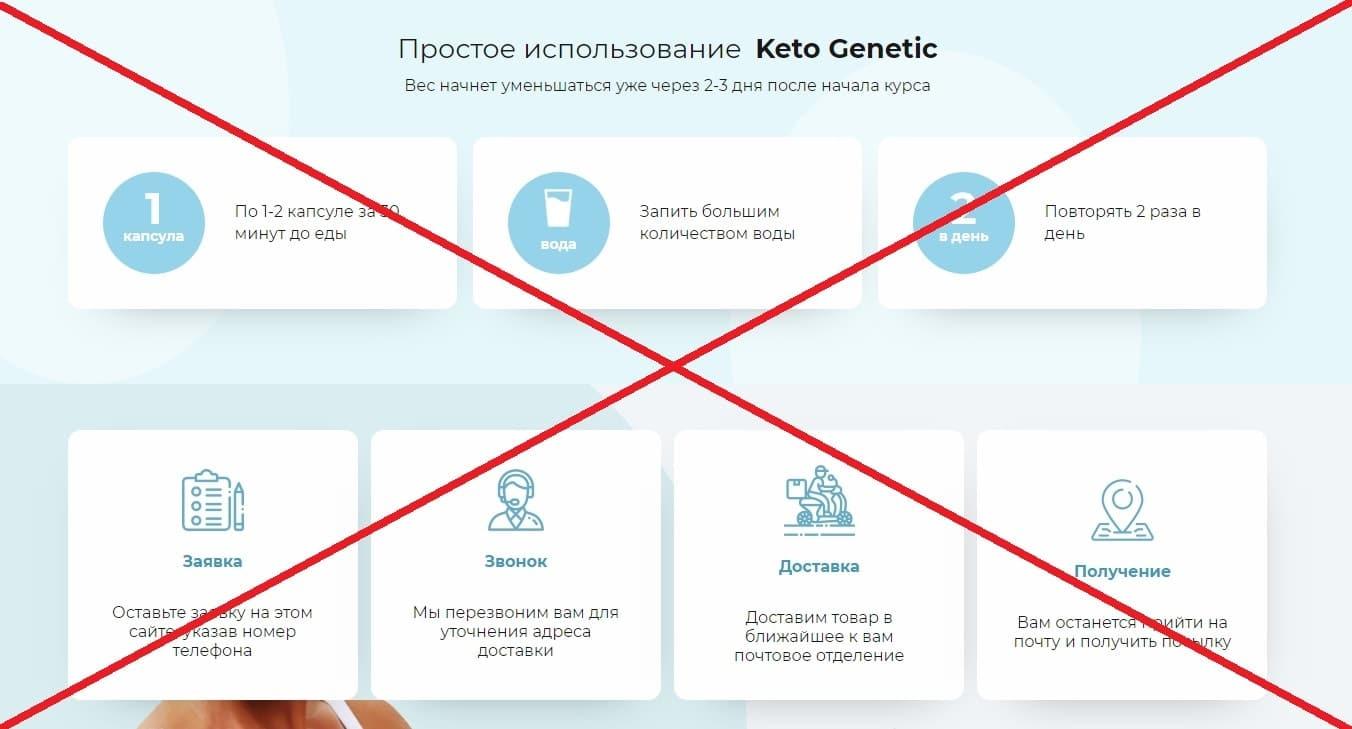 Кетогенная диета (Keto Genetic) - отзывы и обзор