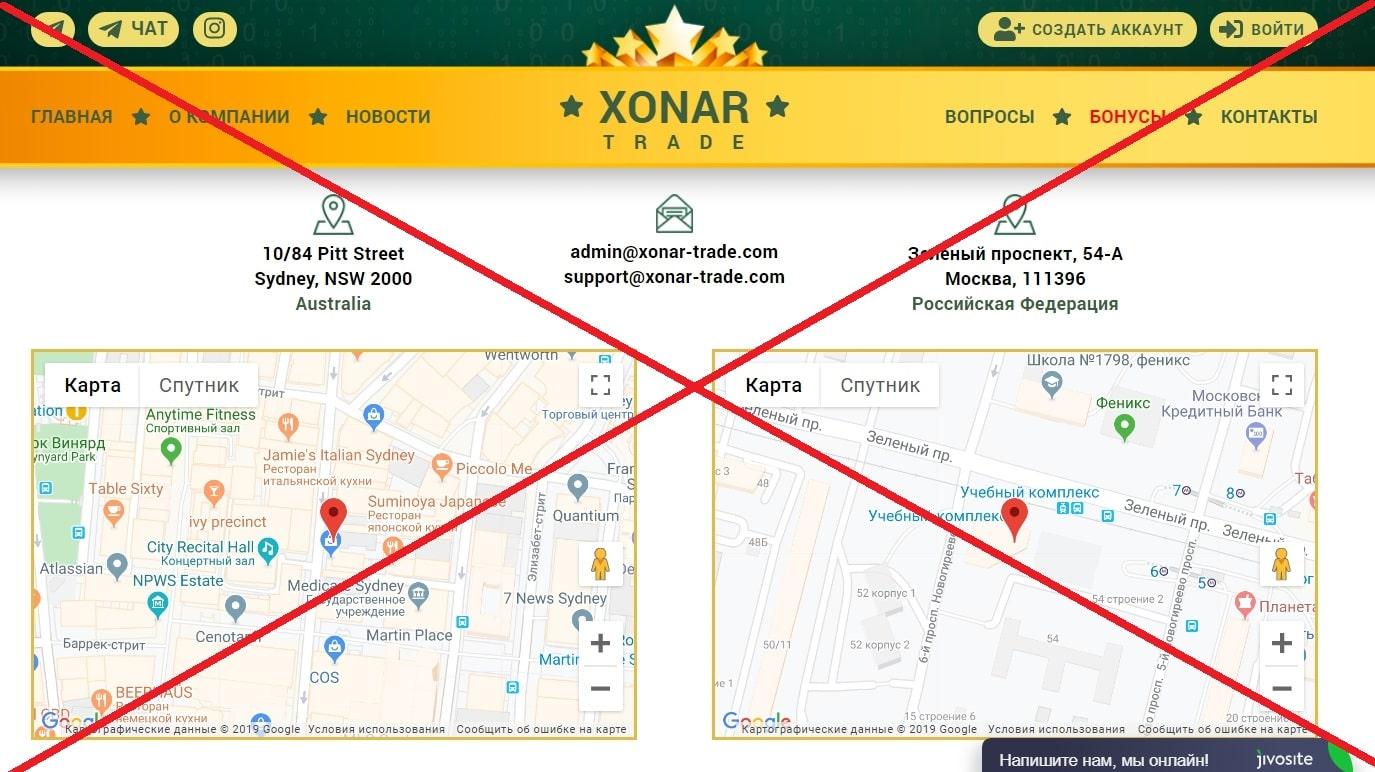 Реальные отзывы о Xonar-trade - обзор проекта