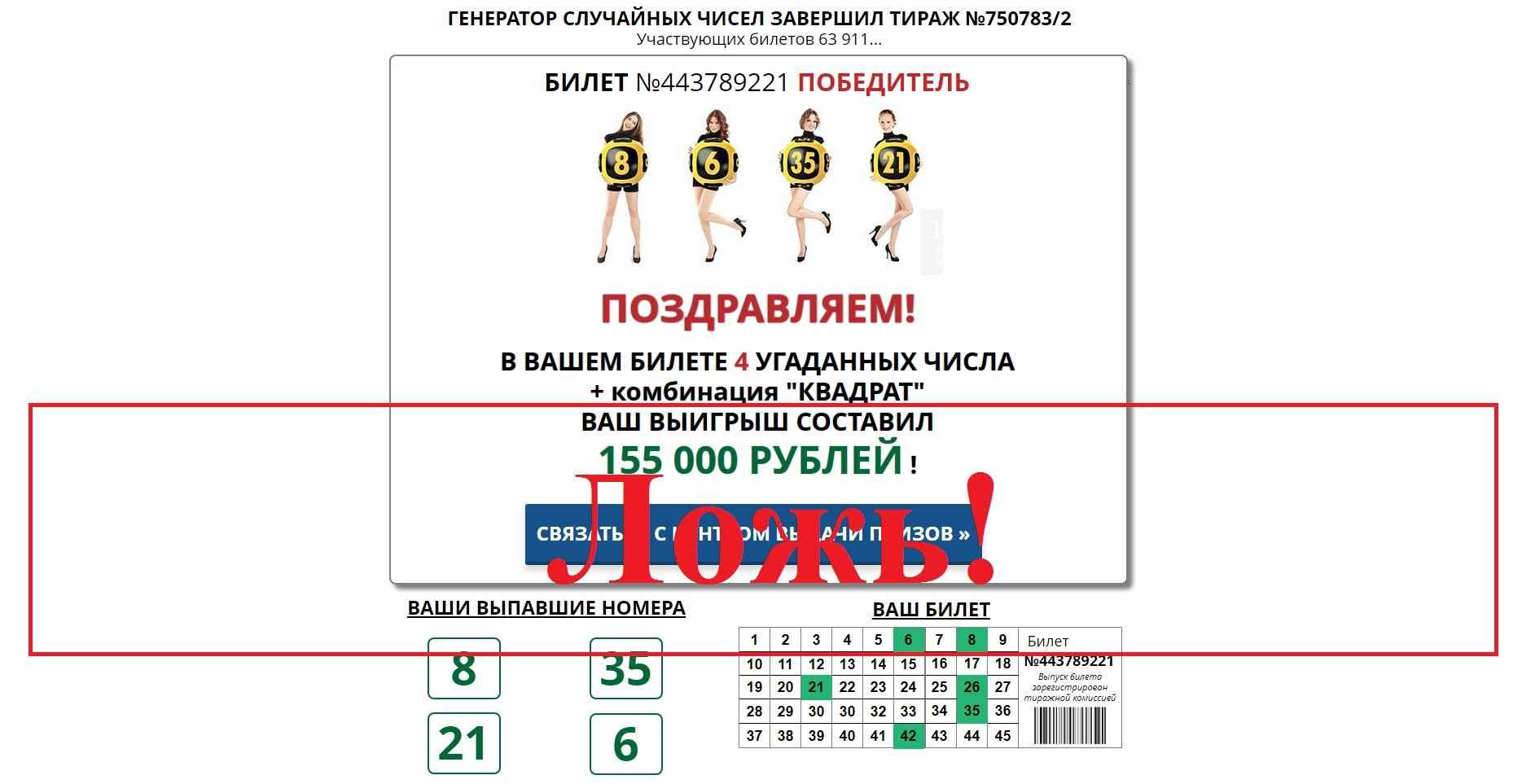 Российское Лото (РусЛото) – отзывы. Всероссийская официальная лотерея Гостлото