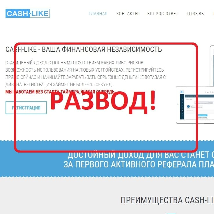 Cash-Like: обещание независимости. Отзывы и обзор