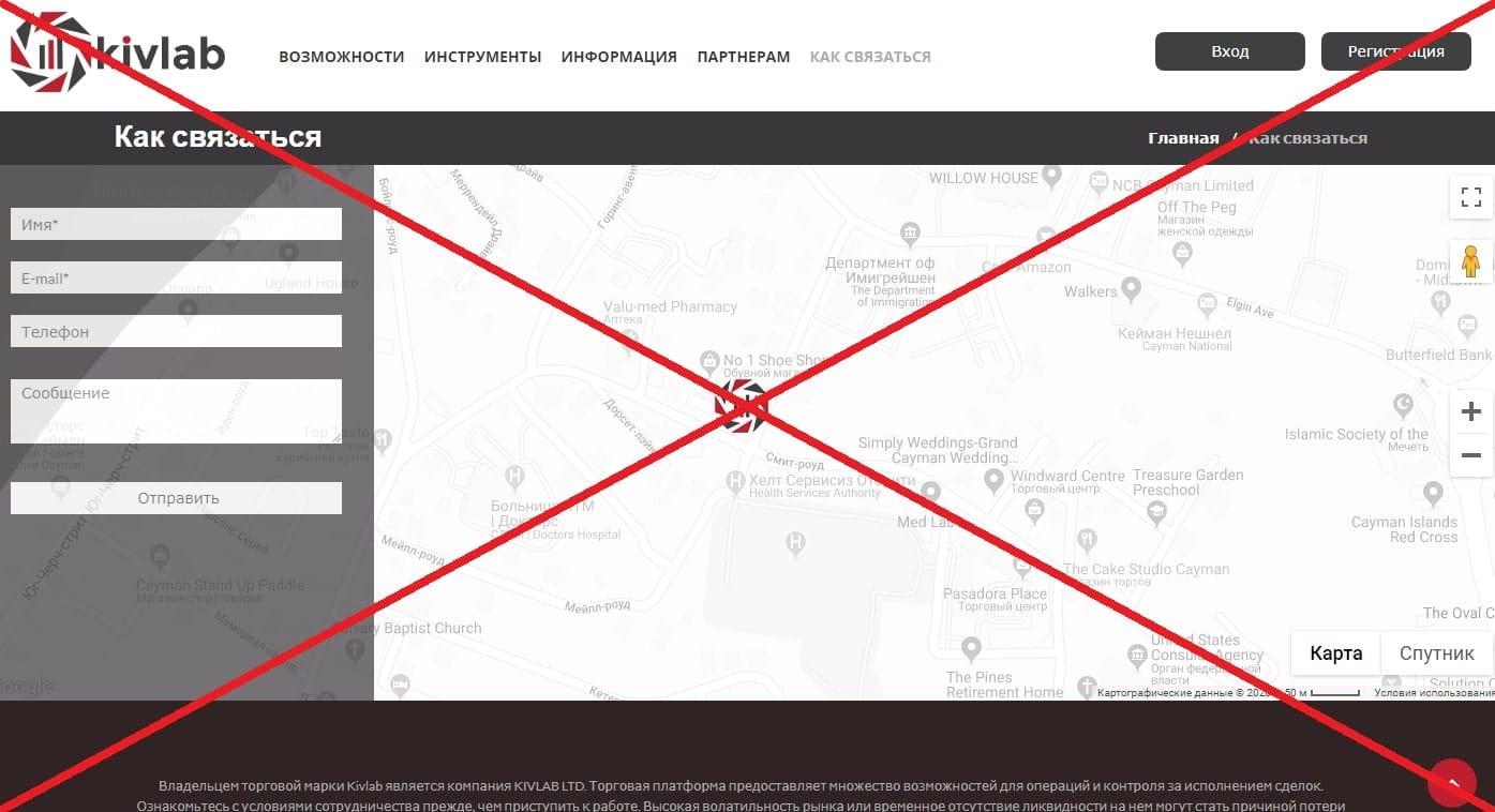 Kivlab - реальные отзывы о брокере kivlab.com