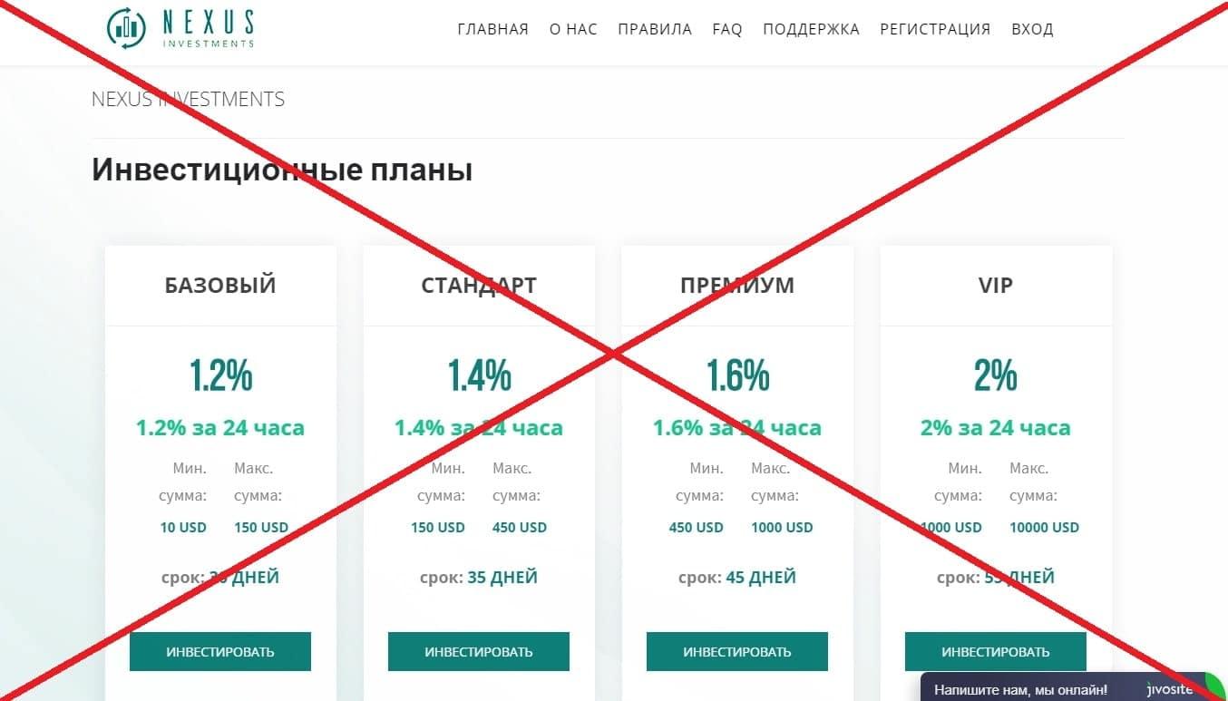 Nexus Investments - какие отзывы? Обзор проекта