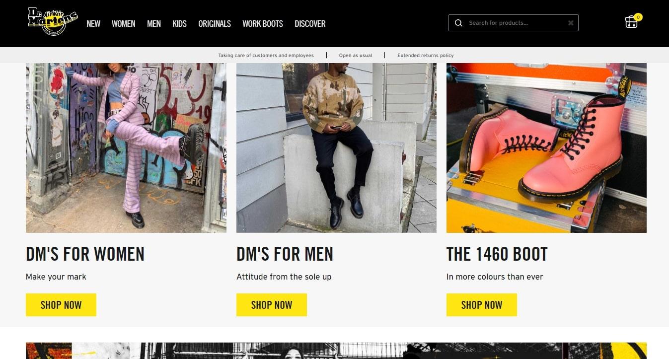 Drmartens.com - отзывы о магазине