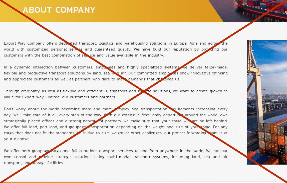 Export Way Limited - отзывы. Обман или нет?
