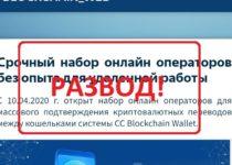 Blockchain Web — отзывы. Заработок или лохотрон?