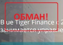 Blue Tiger Finance (tigeronefinance.com) — отзывы. Мошенники?