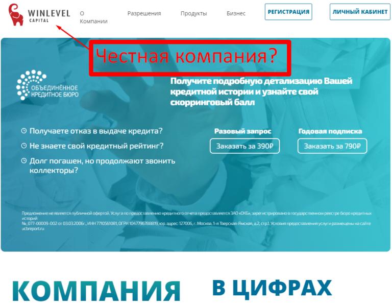 Вин Лэвел Капитал — отзывы клиентов. Winlevel.ru «Закрой кредит»