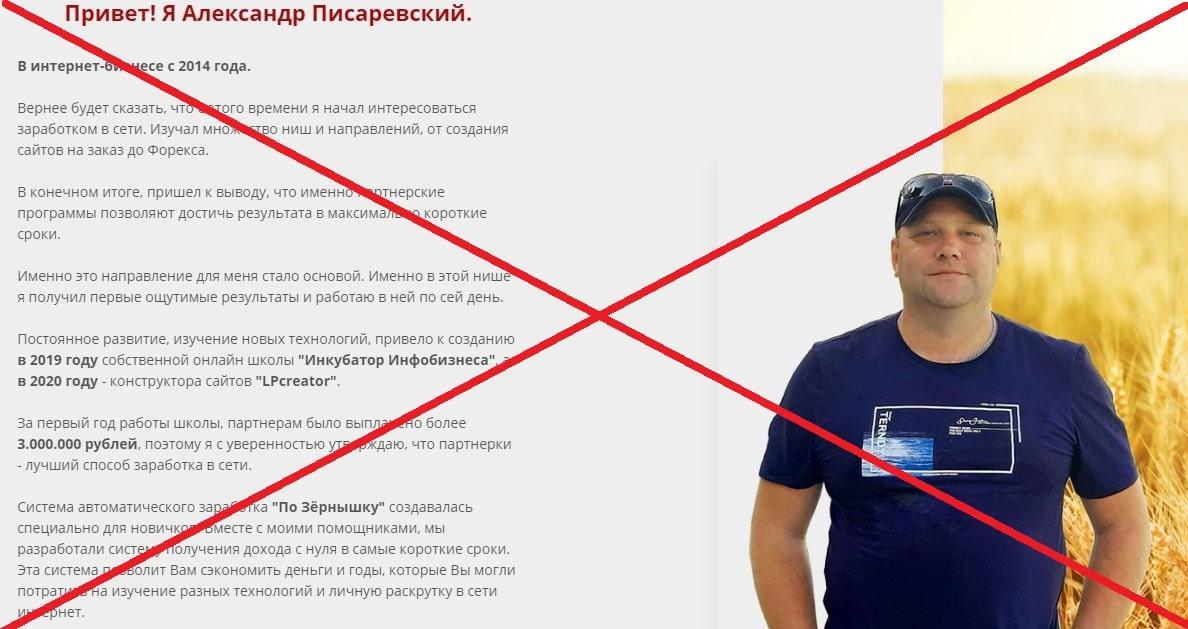 """Курс Александра Писаревского """"По Зёрнышку"""" - отзывы, обзор и проверка"""
