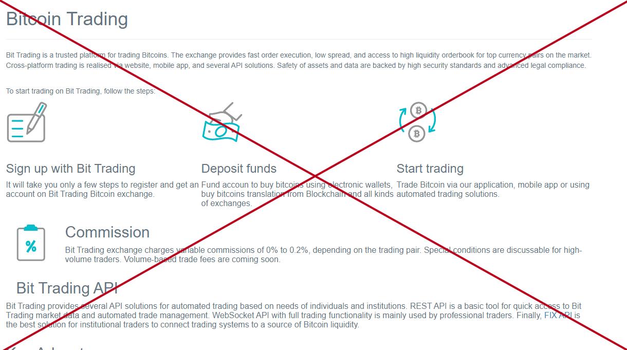 Bit Trading (bit-trading.online) - отзывы. Как вывести деньги?