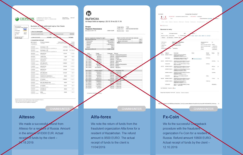 Chainhunter (chainhunter.nl) - отзывы и обзор