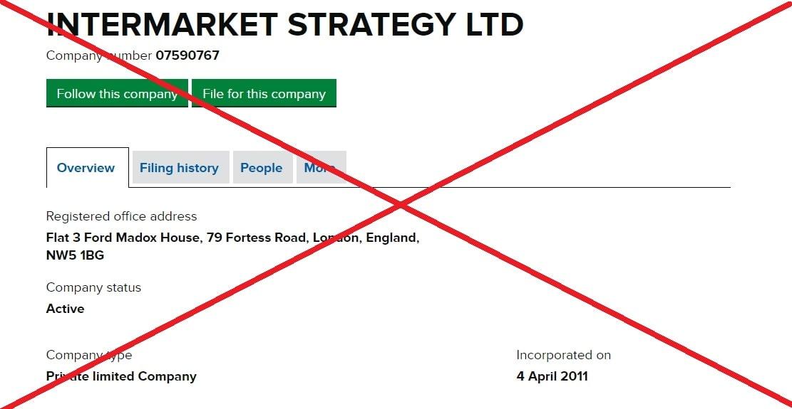 Intermarket Systems LTD обман