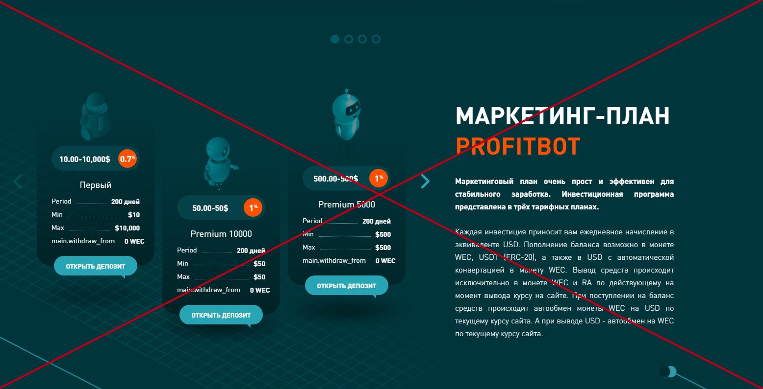 YourProfitBot обман