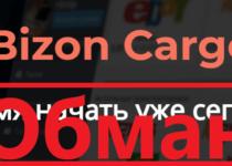 Bizon Cargo (bizon-cargo.com) — отзывы о сомнительном проекте