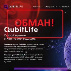 QubitLife - отзывы о компании