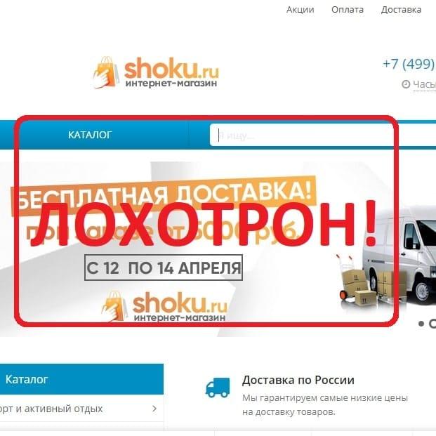 Shoku (nienson.ru) - отзывы об интернет-магазине