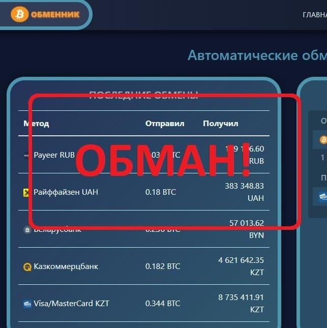 Обменник bitfinex.expert - отзывы и обзор