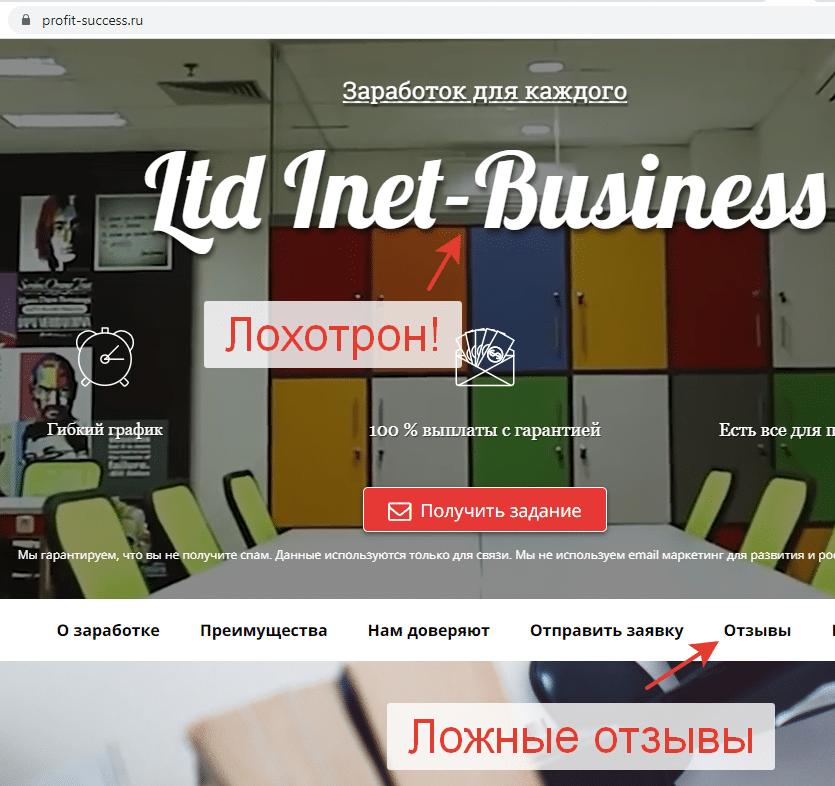 Ltd Inet Business - реальные отзывы 2021 года